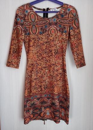 Платье 42р. с молнией