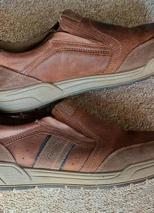 Кожаные туфли gallus,43 размер,германия.
