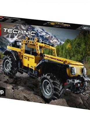 Конструктор lego technic jeep wrangler !
