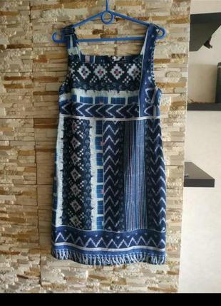 Хлопковое платье сарафан хлопковый