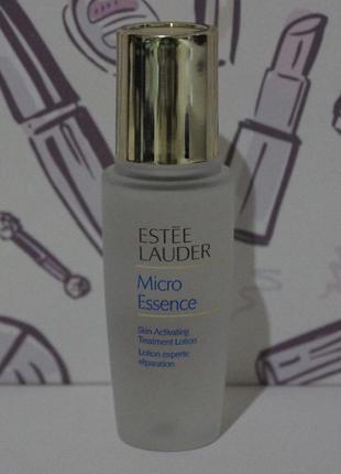 Лосьон estee lauder micro essence skin activating treatment lotion