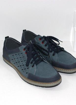Мужские стильные летние туфли