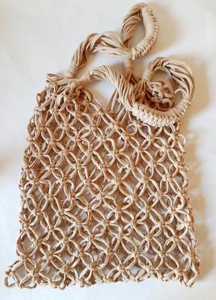 Стильная сумка-авоська