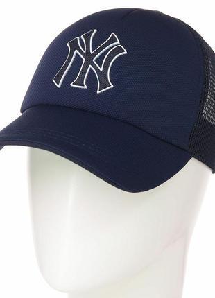 Спортивная летняя кепка бейсболка new yorker ny нью йорк  мужская женская