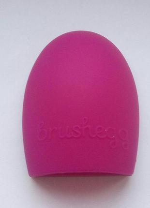 Акция ❤ щетка силиконовая brushegg для мытья косметических кистей