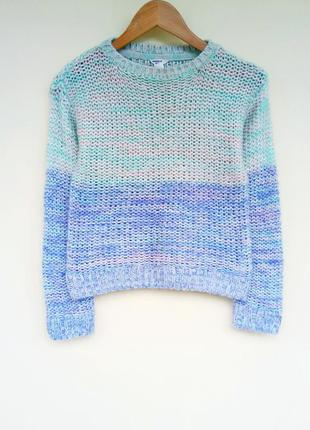 🌿красивий в'язаний светр/свитер forever 21 girls
