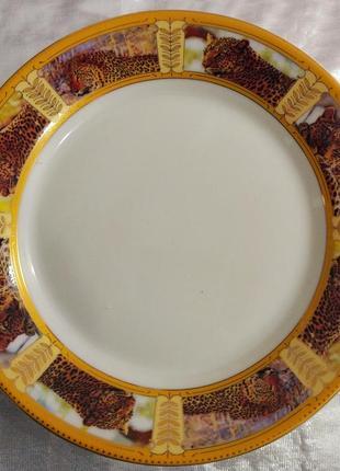 Тарелка фарфор 19 см сафари