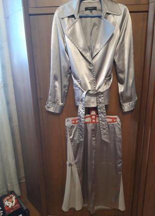 Женский костюм куртка пиджак юбка