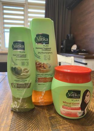 Кондиционер для волос vatika, оригинал с египта