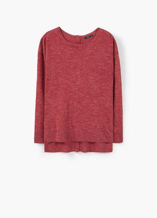 Пуловер, м. манго