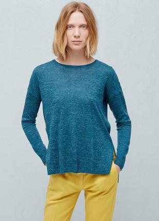 Пуловер, с, манго