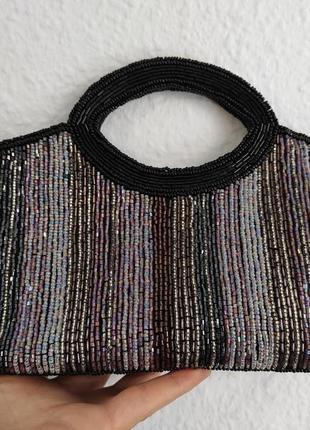 Красивая вечерняя сумочка испанского бренда menbur