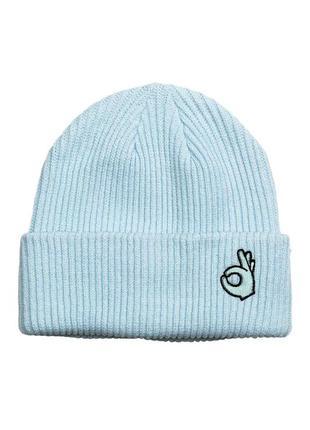 Женская зимняя шапка h&m англия.