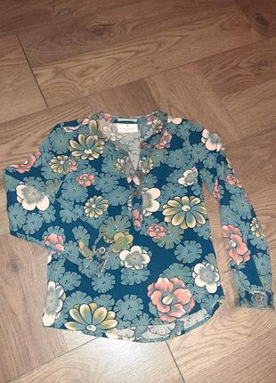 Оригинал scotch&soda рубашка на модную малышку