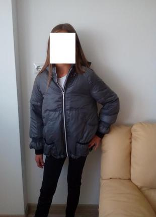 Легкая куртка пуховик geox respira оригинал размер 12 т