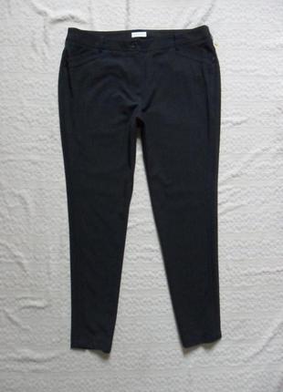 Зауженые темно серые брюки штаны bonita, 18 размер .