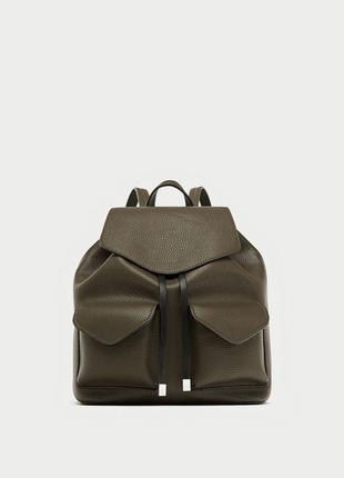 Новый рюкзак с передними карманами zara
