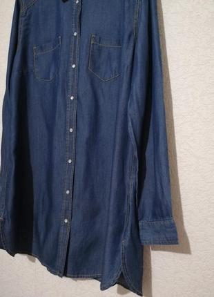 Джисовая туника-рубашка от esmara, германия.