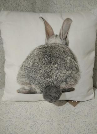 Декоративная подушка + наволочка лён