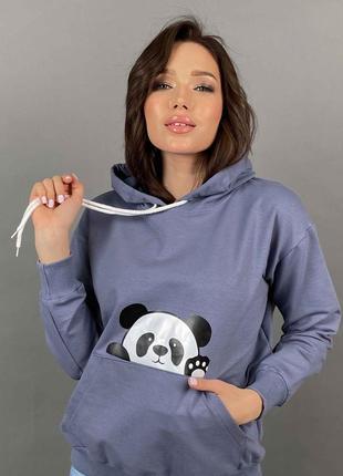 Худи панда1 фото