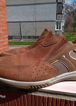 Легкие, комфортные туфли из натуральной кожи gallus clima 46 разм