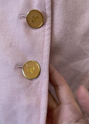 Шикарный шерстяной жакет с шёлком бренда премиум сегмента elegance prestige8 фото