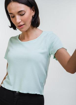 Кроп-топ короткая футболка