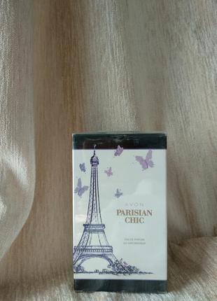 Духи avon parisian chic, лосьон для тела