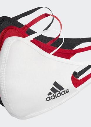Набір із трьох масок на обличчя adidas hb7857 оригінал