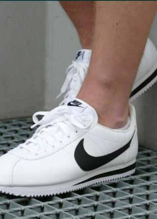 Фірма - кроссовки nike classic cortez leather новая оригинальная обувь !