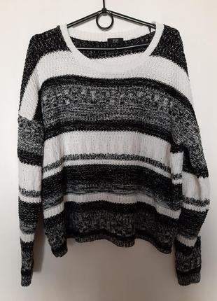 Укороченая кофта,свитер,батник,полувер