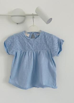 Летняя футболка для девочки 3-4 лет
