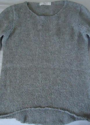 Zara шерстяной свитер