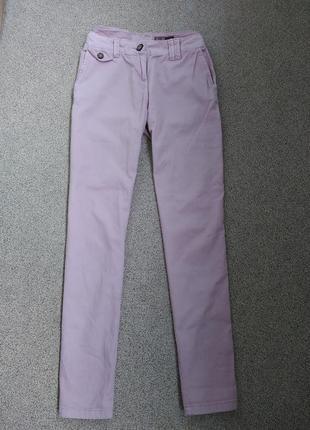 Трендовые штанишки невероятного пастельно-розового цвета