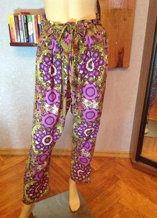 Легчайшие, комфортные индийские брюки, р. 48-504 фото