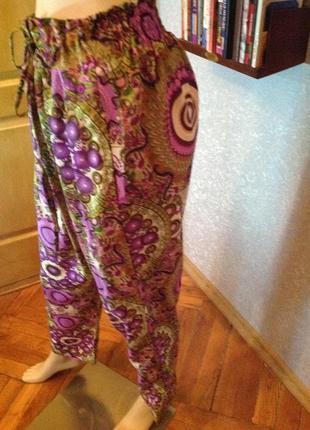 Легчайшие, комфортные индийские брюки, р. 48-503 фото