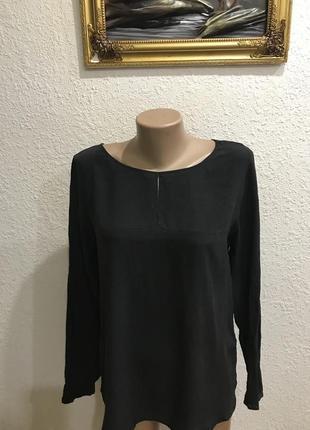 Шелковая блуза блузка кофта бренд drykorn 100% натуральный шёлк