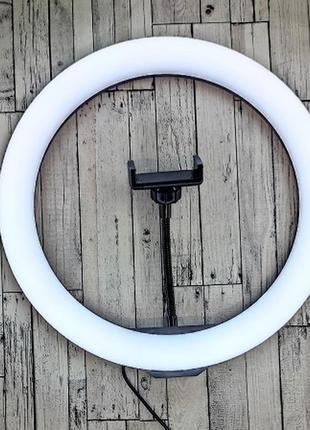 Кольцевая лампа ring light m-33 - 33 см black
