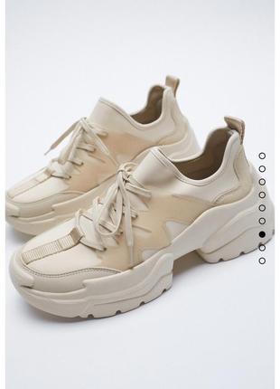Неймовірні кросовки zara нова колекція