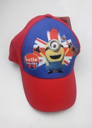 Летняя кепка для мальчика миньон