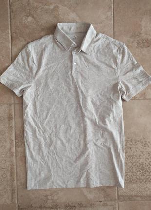 Мужская футболка поло h&m слим фит