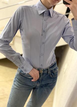 Рубашка imperial/офисная брендовая рубашка/рубашка классическая италия/рубашка боди