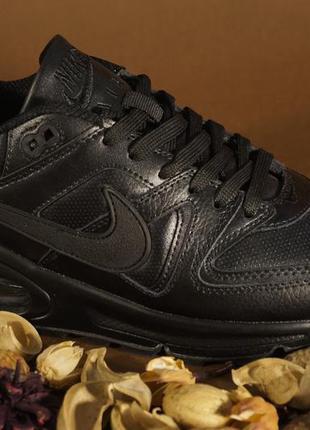 0ff0952b Кожаные женские кроссовки, черные nike air max найк, цена - 915 грн ...