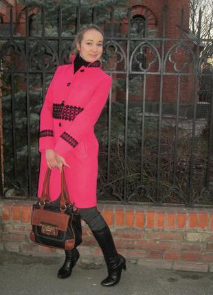 Продам красивое пальто glem на осень-весну!!! 44 размер