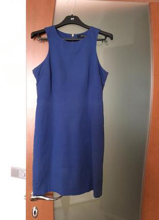 Платье top secret синее фасон - футляр
