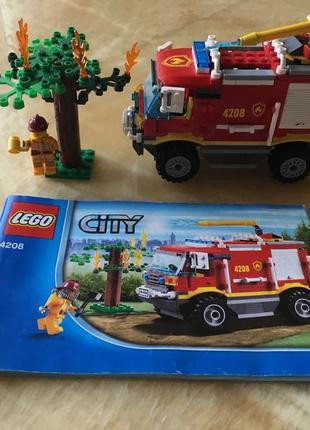 Lego пожарная машина