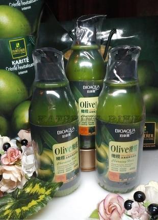 Шампунь для волос bioaqua olive shampoo с оливковым маслом