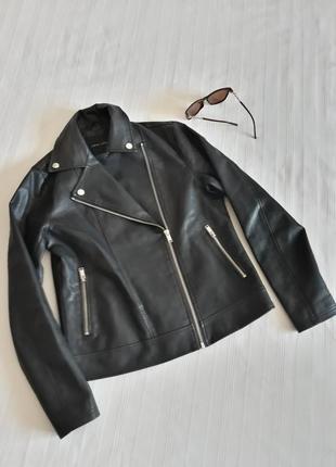 Куртка кожанка косуха кожаная женская куртка пиджак new look