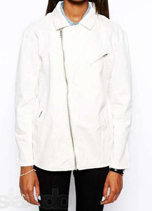 Джинсовая куртка-косуха asos