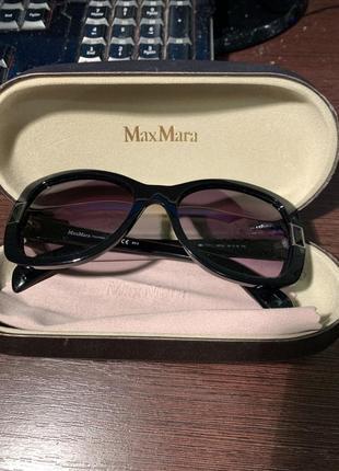 Max mara tipp 2 оригинал новые очки солнцезащитные